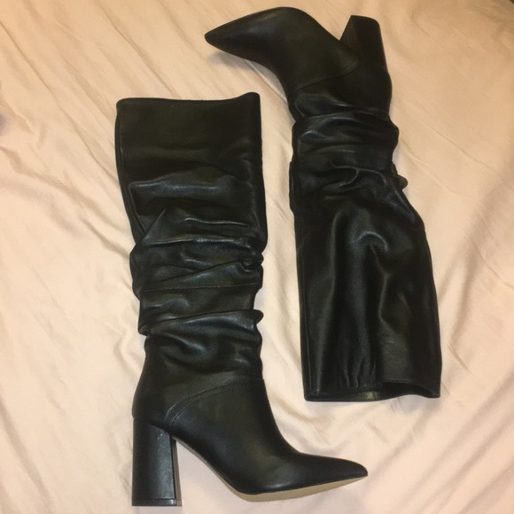 8d8c05718b6 NWT Steve Madden Norie leather boots NWT